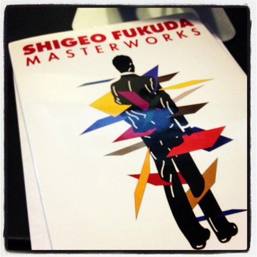 Newest addition to my design inspiration library. If you don't know Shigeo Fukuda, check him out. His work is amazing!