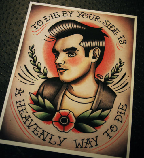 crystalllized:  Im gonna get this tattooed on my thigh (because morrissey is god okay) but not the lyrics, because they're wrong ……