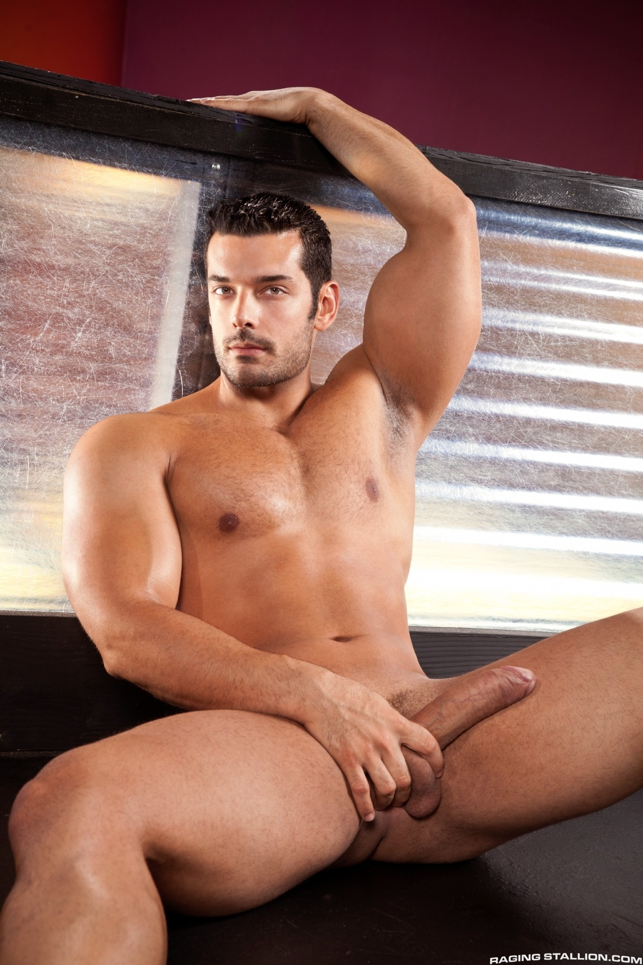 Gay porn stars Marcus Ruhl and Andrew Justice
