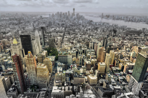 NYC Tilt Shift by Ton Ten on Flickr.