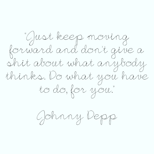 factsaboutyou:  Quote by Johnny Depp Quote requested by: out-of-my-mind-16
