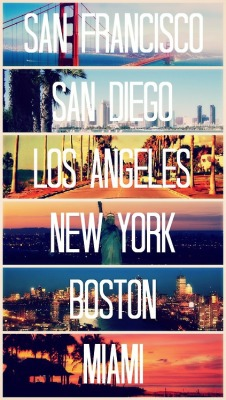 Been to all those cities at some point of my life.