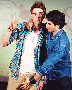 Ian Somerhalder & Nathaniel Buzolic - TVD Convention @ Brussels (May 11, 2013)