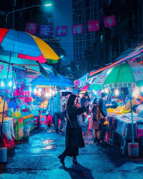 neon colorful moody cinemtic nightscape Shanghai instagram urban urbanphotography China Victor Chiang