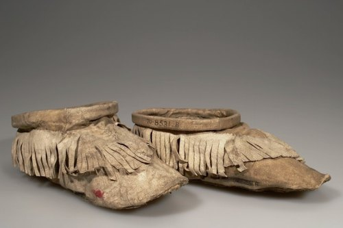 eurasian-shamanism:  A Sakha shaman's shoes American Museum of Natural History