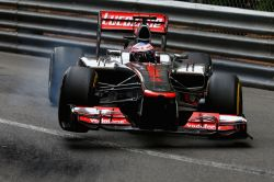 "mclaren-soul:  Pits: ""Look after your front right tyre"" Jenson: ""Challenge accepted"""