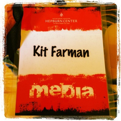 Official media pass. / on Instagram http://instagr.am/p/VcLE2LjX1m/