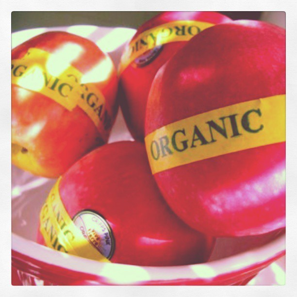 Careful - apples absorb #pesticides like a sponge, so only eat #organic apples if possible! #nutrition #live4long #health
