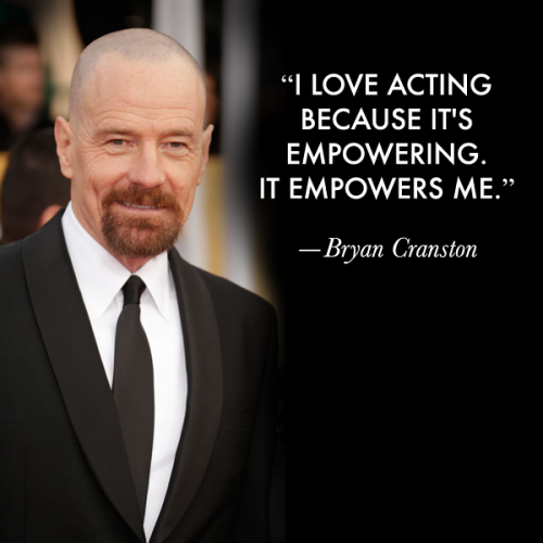 Actors on Acting: Bryan Cranston