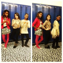 me & my gals ♥ yeaaa we ALLAT ;]