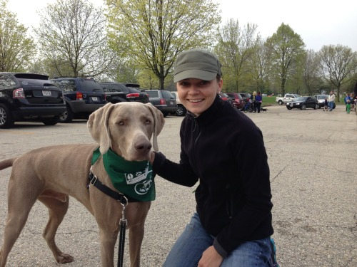 Dog walk for the Wisconsin Human Society!