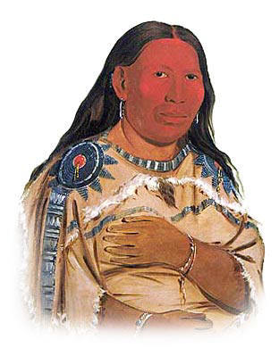 Picture of a Hidatsa Woman An Illustrated History of Native Americans through a gallery of pictures and paintings. Look at the picture of the Hidatsa Indian woman for a great insight into the clothing and ornaments worn by this tribe of Native American Indians.