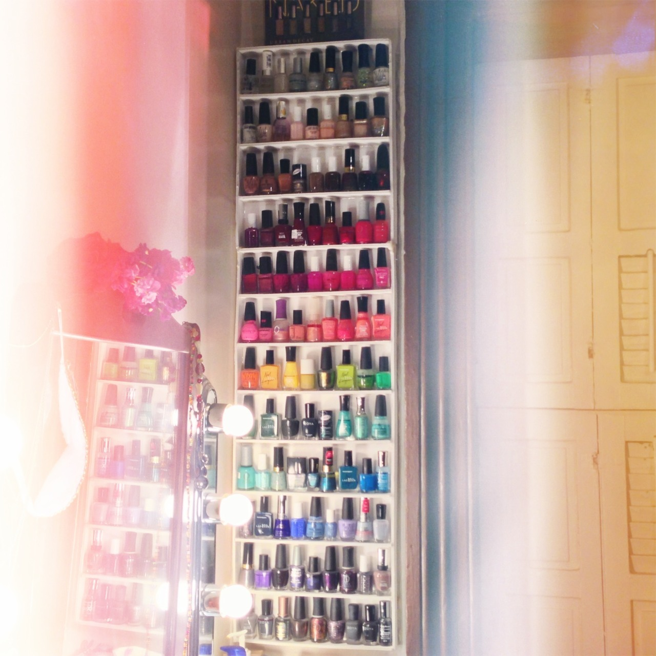 lastly - my nail polish collection.