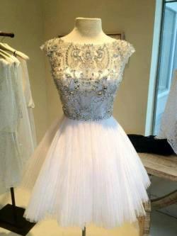 dress white ballerina 39