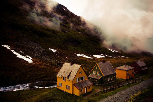 bathorynordland:  Norway by vagabondanse on Flickr.