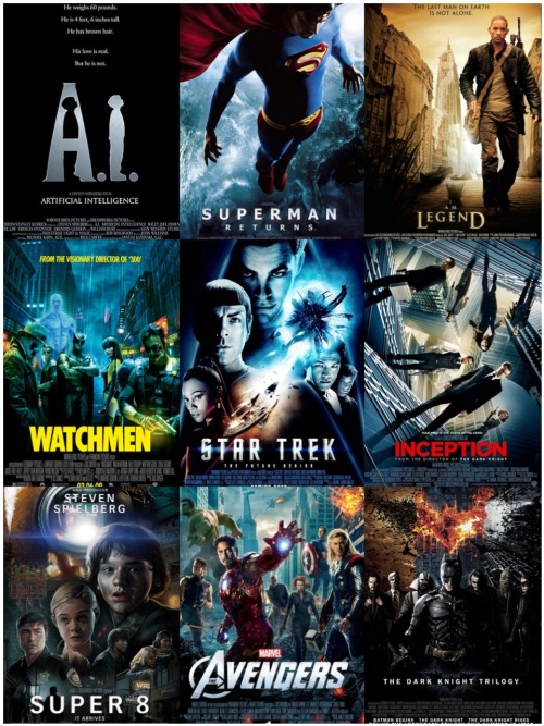 My 9 favorite films of the last 12 years!