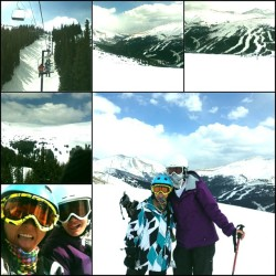 such a good day! #Loveland #skiing #snow #snowboarding #shredding #gorgeous #springbreak #mountains (at Loveland Ski Area)