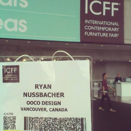 Day 2 #ICFF  (at Jacob K. Javits Convention Center)