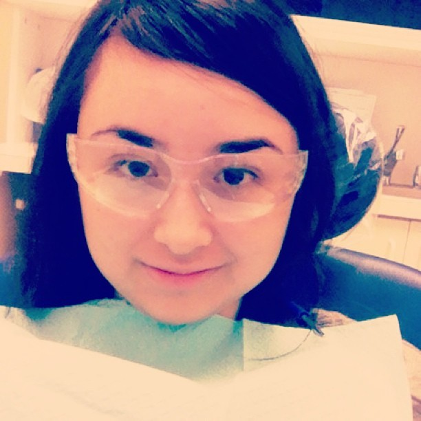 Dentist 😷😬#dentist #cavities #smile #teeth #saturday #morning #clean