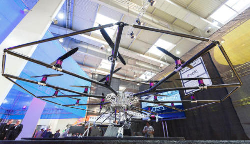 (via 18 rotors and up: E-volo shows personal helicopter prototype | Cutting Edge - CNET News)