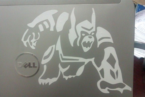 Aw yessss. Got a Thunder Lord Volibear on my laptop.