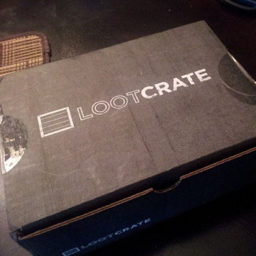 This months Loot Crate has arrived!!!