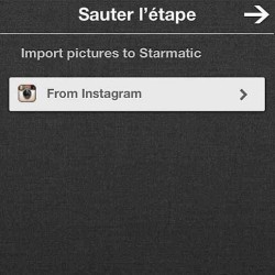 Introducing Starmatic! The  very interesting Instagram rival. Maybe the best I've come across yet. Their filters are awesome and they also have a Tumblr-esque repost feature. Anybody tried it?