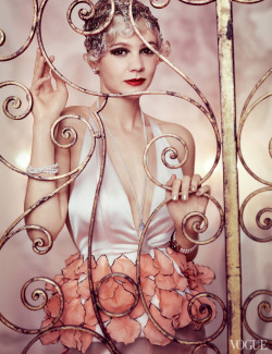 "mistertez:  Carey Mulligan ~ The Great Gatsby ""Daisy Buchanan"" for Vogue"