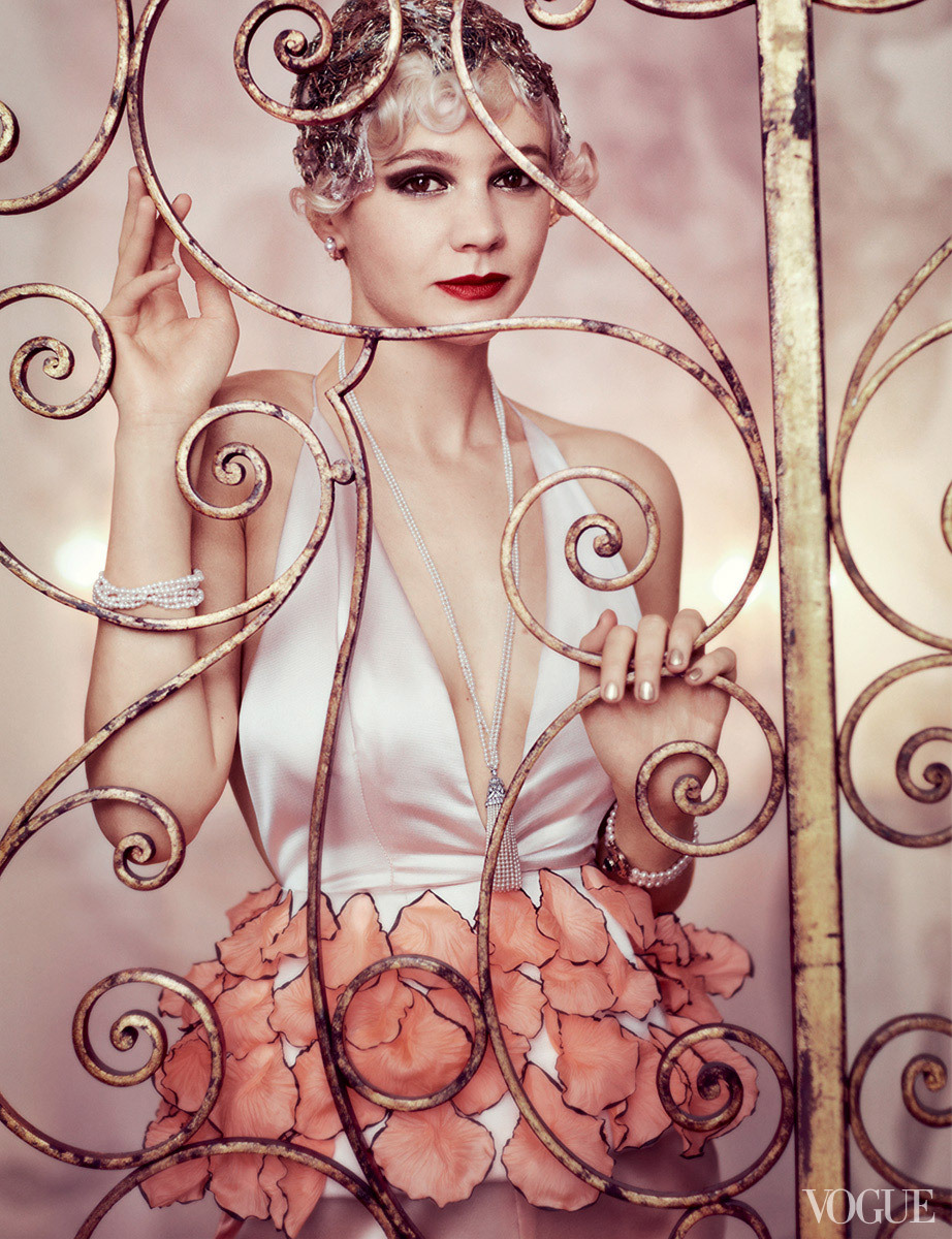 realmofthesenses:  Carey Mulligan Photographed by Mario Testino