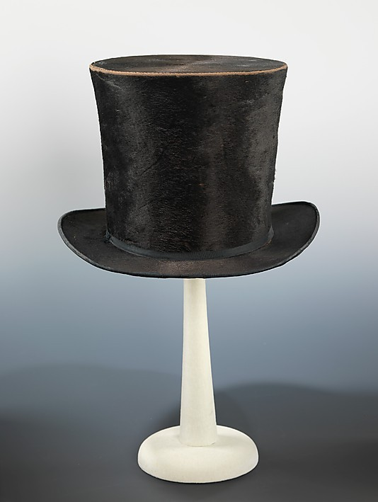 omgthatdress:  Top Hat 1850 The Metropolitan Museum of Art