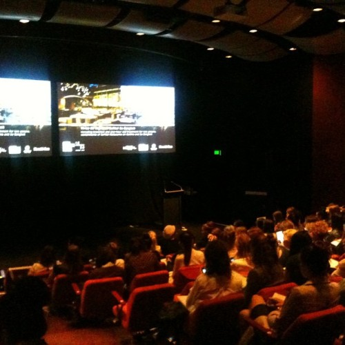 Seminar #LMFF #fourhrssleep #nerdburger (at Sofitel Melbourne on Collins)