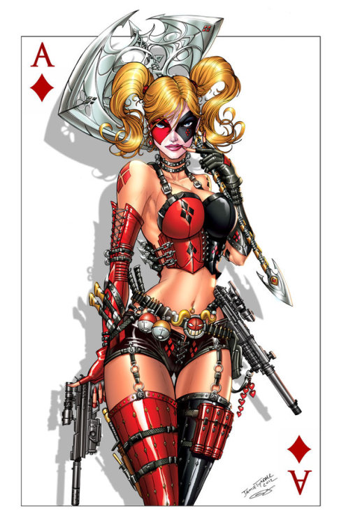 Harley, Oh my. Ace of Diamonds