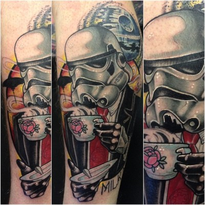 neildransfieldtattoo:  Had an awesome day today cheers rich.