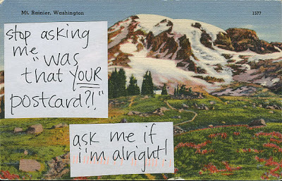 Postsecret of the Week: It's so important to be able to vocalize concern.