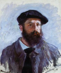 art-library:  Claude Monet, Self-Portrait with a Beret, 1886.