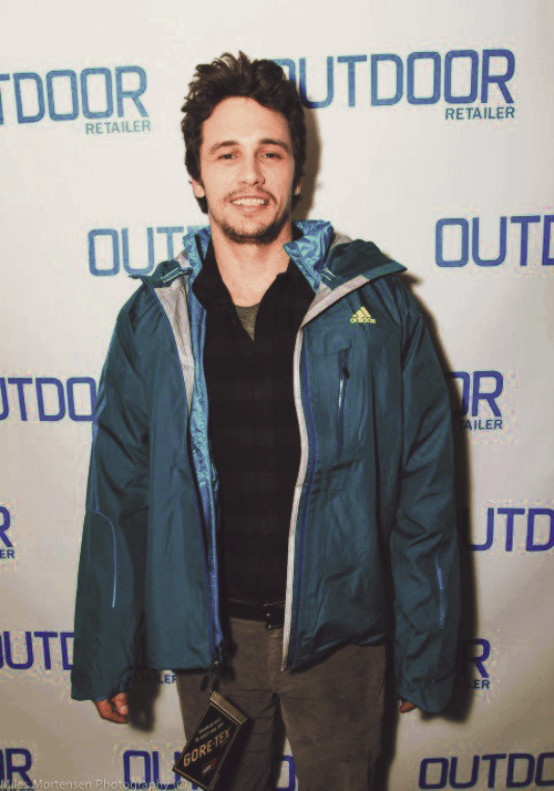 James Franco attends the 2013 Sundance Film Festival.