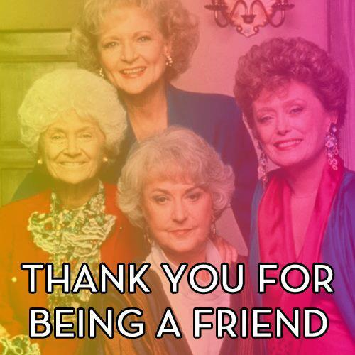 Thank you all for following us! Are you following The Golden Girls Ultimate Fan Club on Tumblr?