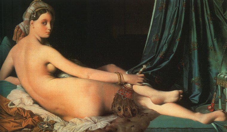 zeroing:  Jean-Auguste Dominique Ingres