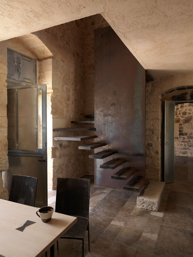 justthedesign:  Staircase ARTURO MONTANELLI Production Martina Hunglingerand photography Mads Mogensen.