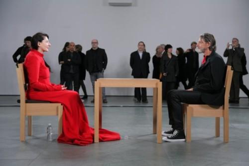Marina Abramović Meet UlayMoment from The Artist is Presenthttp://zengarage.com.au/2013/03/marina-abramovic-and-ulay/