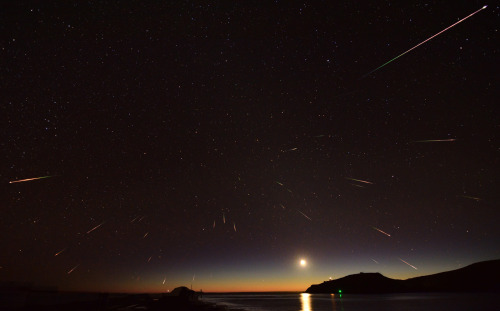cometsmeteoroids:  The Halley's Comet's Remnants by Stephen Voss