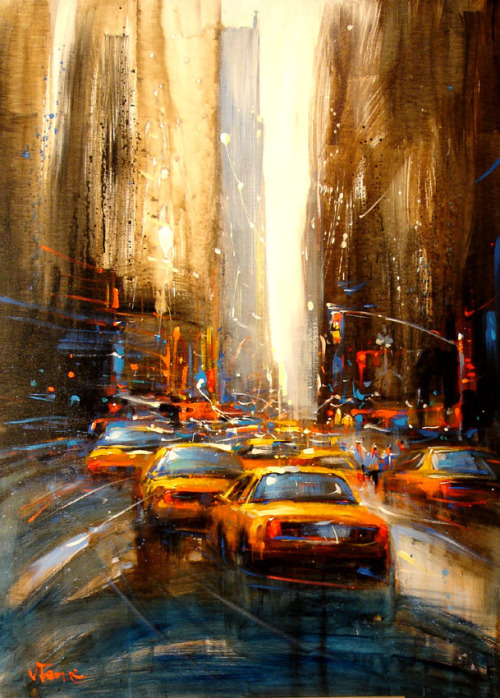 New York City - Painting by http://www.vantame.fr/
