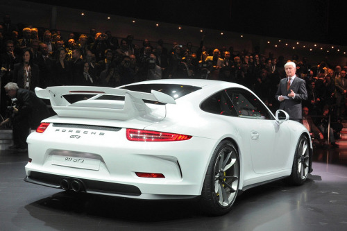 All sides of the Porsche 991 GT3 @ Geneva