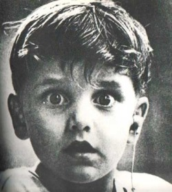 A boy, deaf from birth, hears for the first time.