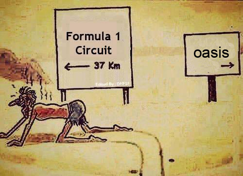 formula1diaries:  Finally, our oasis…
