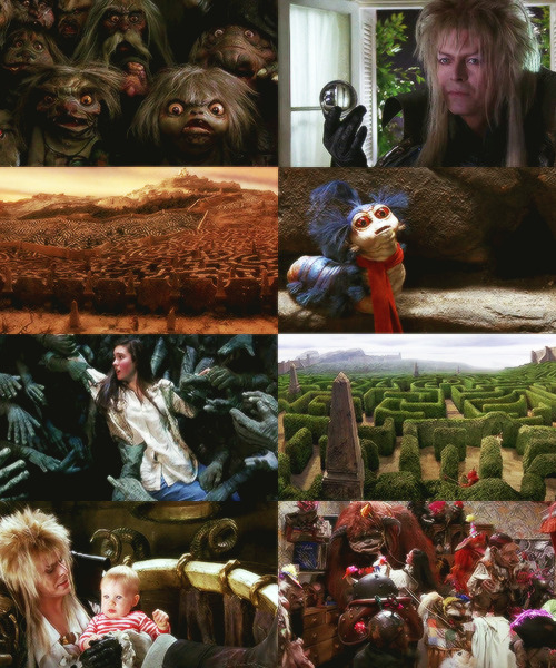 "greatbrituns:  7/75 favourite films: Labyrinth  ""How you turn my world, you precious thing."""