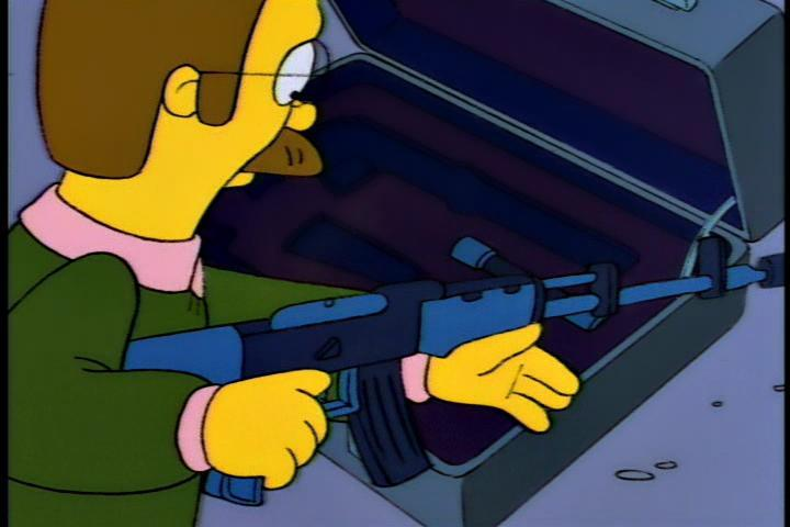 joaquinhighroller:  Flanders wit the choppa