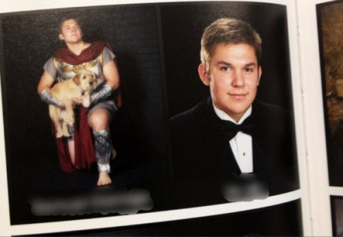 This Guy's Senior Picture is Better Than Yours Are you not graduating?? IS THIS NOT WHY YOU ARE HERE?