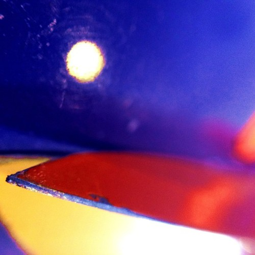 Primary Kitchen Series 3 #macro #photography #abstract #PrimaryColors #colors #art #kitchen #everyday #sharp #light #reflections #red #yellow #blue #KGD