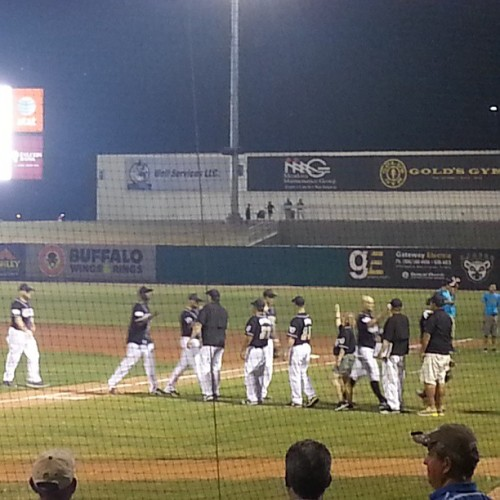 Lemurs win top of the 9th 5-3 (at Uni-Trade Stadium)